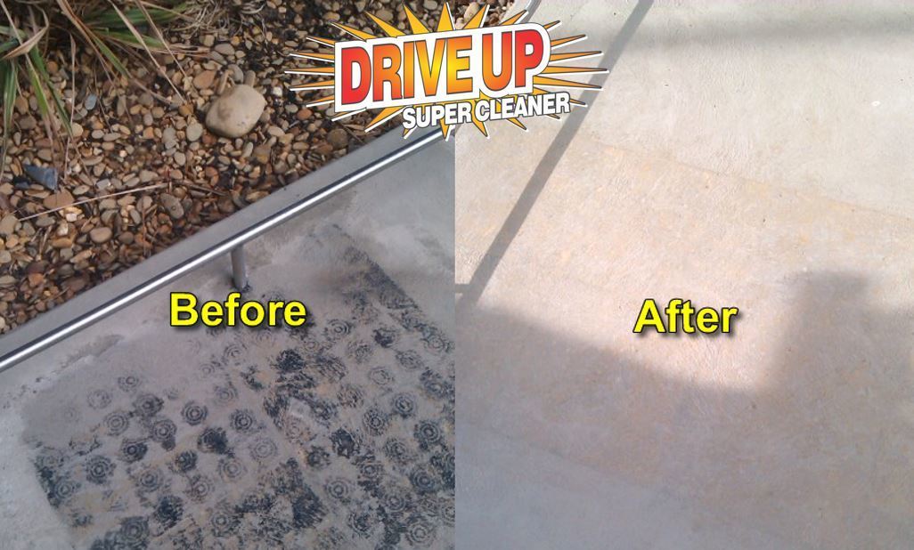 Easily Clean Driveways and Concrete with DriveUp