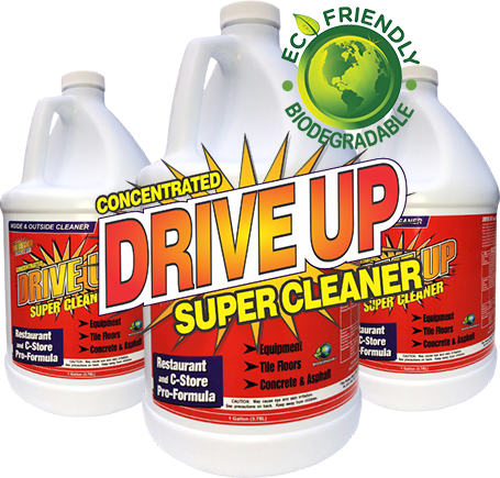 Drive Up Green Super Cleaner For Oil Removal