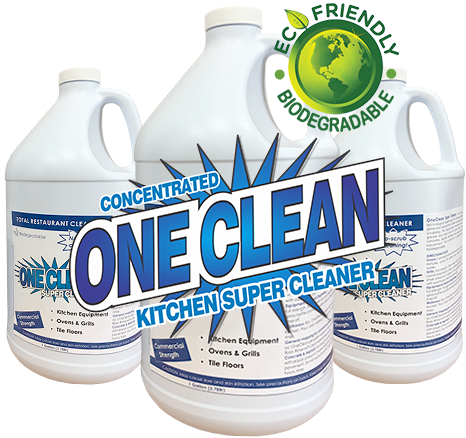 Environmentally friendly kitchen cleaner