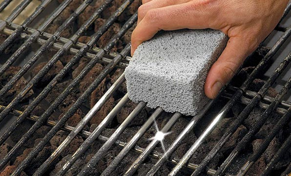 After Taste Free Pumice Stone for Grills
