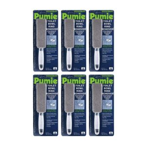 6 Pack of Pumie Toilet Bowl Ring Remover