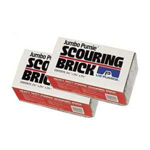 Pack of 2 Jumbo Pumie Scouring Brick