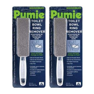 2 Pack of Pumie Toilet Bowl Ring Remover
